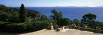 Observation Point At The Sea Shore, Provence, France by Panoramic Images