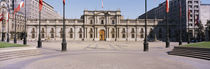 Facade of a palace, Plaza De La Moneda, Santiago, Chile by Panoramic Images