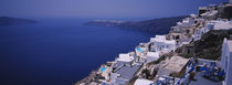 Caldera to left, Santorini, Greece by Panoramic Images