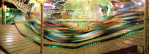 Carousel in motion, Amusement Park, Stuttgart, Germany by Panoramic Images