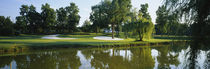 Lake on a golf course, Tantallon Country Club, Fort Washington, Maryland, USA by Panoramic Images
