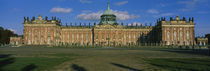 Facade Of A Palace, Sanssouci Palace, Potsdam, Germany von Panoramic Images