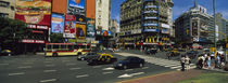 Vehicles Moving On A Road, Buenos Aires, Argentina von Panoramic Images