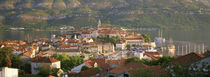 Croatia, Korcula, Korcula Island, City on the waterfront by Panoramic Images