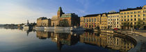 Reflection Of Buildings On Water, Stockholm, Sweden von Panoramic Images