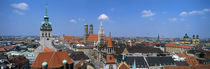 Cityscape, Munich, Germany von Panoramic Images