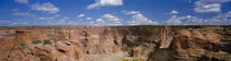 Rock formations on a landscape, South Rim, Canyon De Chelly, Arizona, USA by Panoramic Images