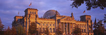 Facade of a building, The Reichstag, Berlin, Germany by Panoramic Images