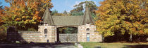 Acadia National Park, Jordan Pond Gatehouse, Facade of a building von Panoramic Images