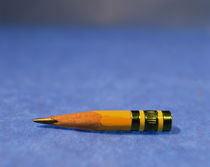 Close-up of a pencil nub by Panoramic Images