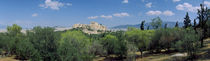 Ruins of a temple, Acropolis Of Athens, Athens, Greece by Panoramic Images