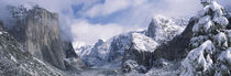 El Capitan, Half Dome, Bridal Veil, Yosemite National Park, California, USA by Panoramic Images