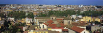 High angle view of a cityscape, Rome, Lazio, Italy by Panoramic Images