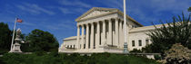 US Supreme Court Building, Washington DC, District Of Columbia, USA by Panoramic Images