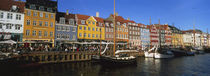 Buildings On The Waterfront, Nyhavn, Copenhagen, Denmark von Panoramic Images