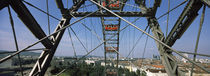 Ferris wheel in an amusement park, Prater Park, Vienna, Austria von Panoramic Images