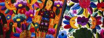 Close-Up Of Textiles, Guatemala von Panoramic Images
