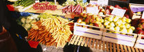 vegetable stand, Stuttgart, Germany von Panoramic Images