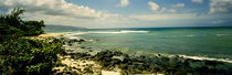 Rocks on the beach, Leftovers Beach Park, North Shore, Oahu, Hawaii, USA by Panoramic Images