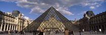 Musee Du Louvre, Place du Carrousel, Paris, Ile-de-France, France von Panoramic Images