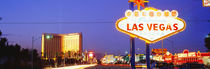Welcome Sign Las Vegas NV by Panoramic Images