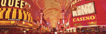 Fremont St Experience, Las Vegas, NV by Panoramic Images