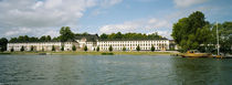 Palace at the waterfront, Karlberg Palace, Stockholm, Sweden by Panoramic Images