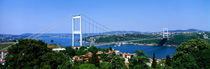 Bosphorus Bridge, Istanbul, Turkey by Panoramic Images