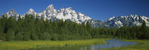 Grand Teton National Park, Wyoming, USA by Panoramic Images