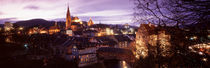Night, Baden, Switzerland von Panoramic Images