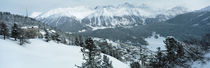 Winter, St Moritz, Switzerland von Panoramic Images