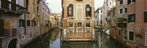 Buildings along a canal, Grand Canal, Venice, Veneto, Italy by Panoramic Images