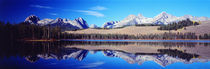 Little Redfish Lake Mountains ID USA by Panoramic Images