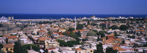 High angle view of a city, Rhodes, Greece by Panoramic Images