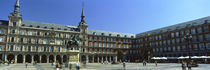 Tourists at a palace, Plaza Mayor, Madrid, Spain by Panoramic Images