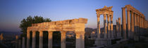 Turkey, Pergamum, temple ruins by Panoramic Images