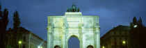 Victory Gate, Munich, Germany von Panoramic Images