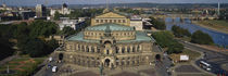 High Angle View Of An Opera House, Semper Opera House, Dresden, Germany by Panoramic Images