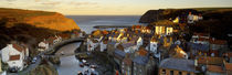 High Angle View Of A Village, Staithes, North Yorkshire, England, United Kingdom von Panoramic Images