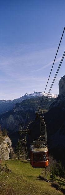 Panorama Print - Berner Oberland, Schweizer Alpen, Schweiz von Panoramic Images
