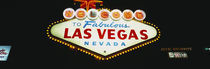 Close-up of a welcome sign, Las Vegas, Nevada, USA by Panoramic Images