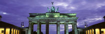 Low Angle View Of The Brandenburg Gate, Berlin, Germany von Panoramic Images