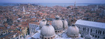 High angle view of buildings in a city, Doges Palace, Venice, Italy von Panoramic Images
