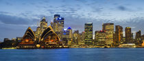 Sydney Harbor, Sydney, New South Wales, Australia von Panoramic Images