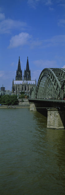Facade of a cathedral, Cologne Cathedral, Cologne, Germany by Panoramic Images