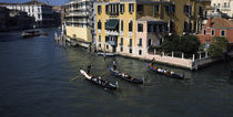 Tourists in Gondolas, Grand Canal, Venice, Veneto, Italy by Panoramic Images