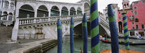 Arch bridge across a canal, Rialto Bridge, Grand Canal, Venice, Italy von Panoramic Images