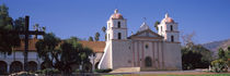 Facade of a mission, Mission Santa Barbara, Santa Barbara, California, USA von Panoramic Images