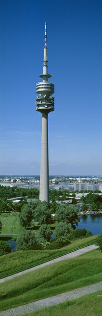 Olympic Tower, Munich, Germany by Panoramic Images