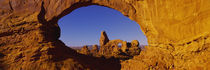 Natural arch on a landscape, Arches National Park, Utah, USA by Panoramic Images